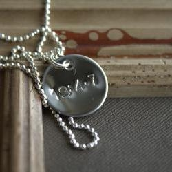 1 Corinthians 13:4-7 Necklace